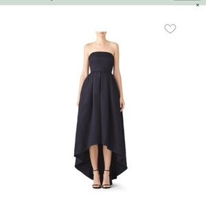 Slate & Willow High-low Gown